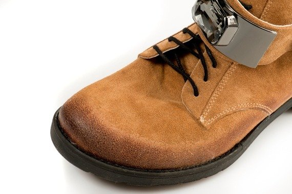 Buty DAMISS Camel Welur DS001
