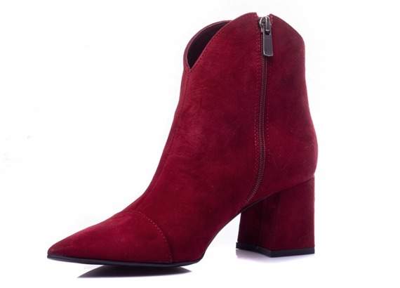 Buty VISCONI Bordo Welur wz.2592