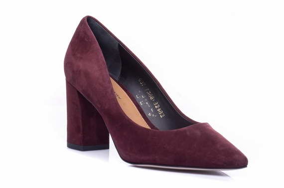 Buty VISCONI Bordo Welur wz.7368