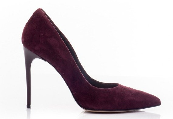 Buty VISCONI Bordo Welur wz.8014